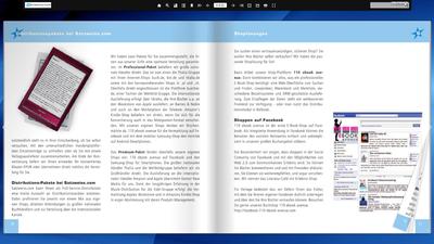 Screenshot eines blätterbaren PDF-Beispiels