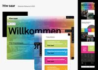 Modern und strukturiert: Webseite der htw saar bekommt neues Gesicht